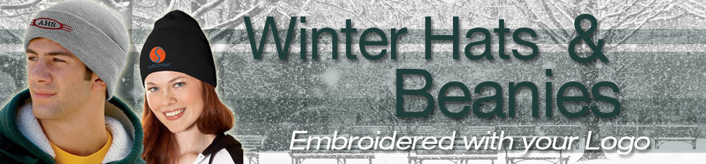 Custom Embroidered Winter Hats and Beanies for Businesses