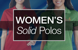 Women's Solid Polos