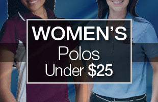 Women's Polos Under $25