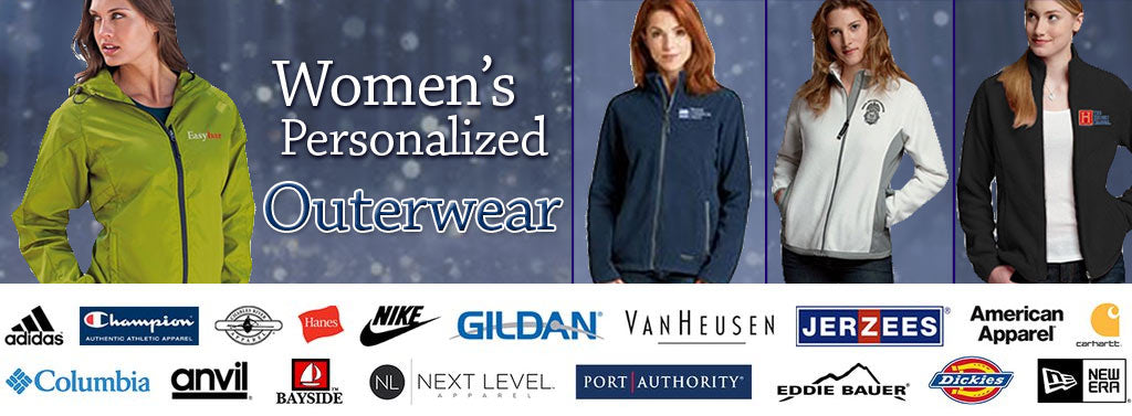 EZ Corporate Clothing - Custom Women's Outerwear