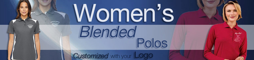 Women's Blended Corporate Polos