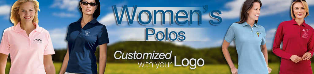 Women's Embroidered Corporate Polos