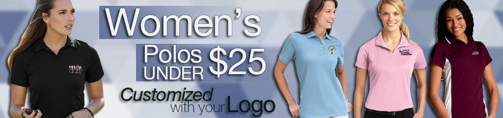 Women's Corporate Polos Under $25