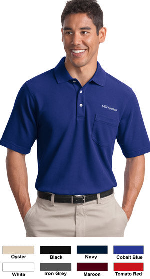 Port Authority EZCotton Pique Cotton Polo