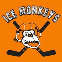 Ice Monkeys Custom Printed Logo