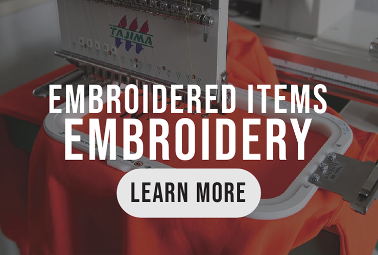 Learn more about Embroidery