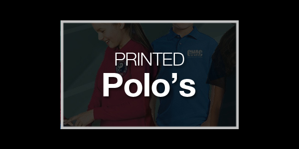 Youth Printed Polos