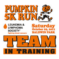 Pumpkin Run Custom Printed Logo
