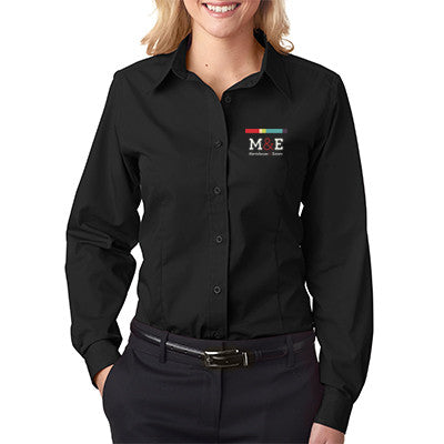 Ladies' Easy-Care Broadcloth 8355L - EZ Corporate Clothing  - 1
