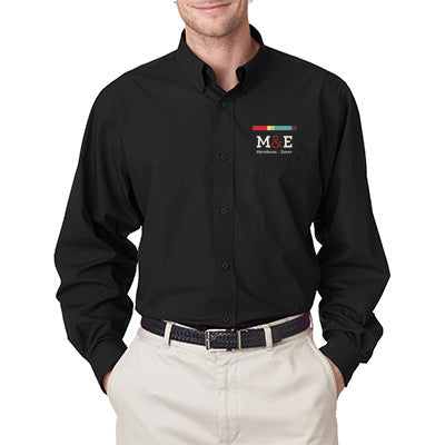 Men's Easy-Care Broadcloth 8355 - EZ Corporate Clothing  - 1