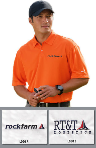 Rockfarm Nike Golf Men's Dri-Fit Pebble Texture Polo - EZ Corporate Clothing  - 1