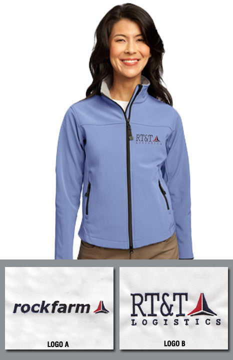 Rockfarm Port Authority Ladies Glacier Soft Shell Jacket - EZ Corporate Clothing  - 1
