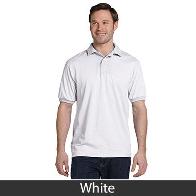 Hanes Adult Comfortblend Ecosmart Jersey Polo - Printed - EZ Corporate Clothing  - 14