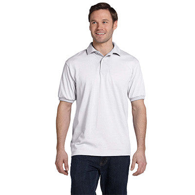 Hanes 5.5oz, 50/50 Jersey Knit Polo - EZ Corporate Clothing  - 4