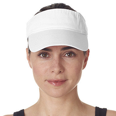 Ultraclub Classic Cut Chino Cotton Twill Visor - EZ Corporate Clothing  - 9
