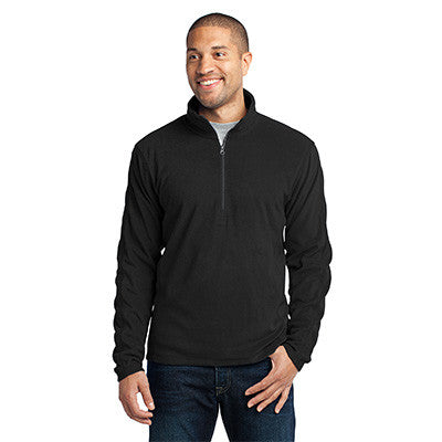 Port Authority Mens Microfleece 1/2-Zip Pullover - EZ Corporate Clothing  - 2