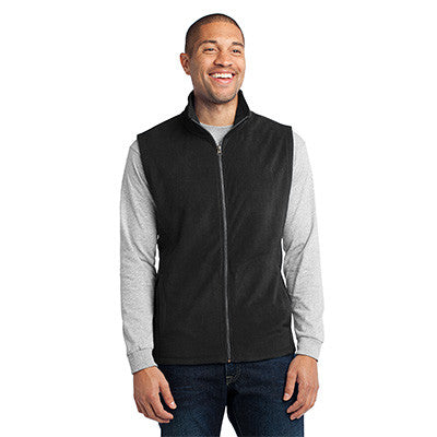 Port Authority Mens Microfleece Vest - EZ Corporate Clothing  - 2