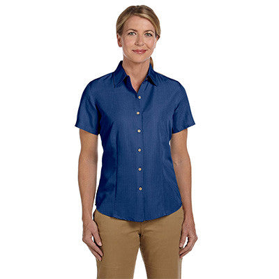 Harriton Ladies Barbados Textured Camp Shirt - EZ Corporate Clothing  - 11