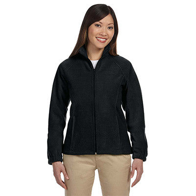Harriton Ladies 8oz. Full-Zip Fleece - EZ Corporate Clothing  - 2