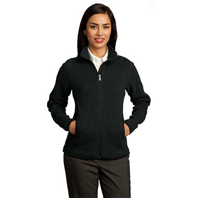 Red House Ladies Sweater Fleece Full-Zip Jacket - EZ Corporate Clothing  - 2