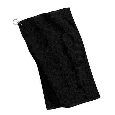 Port Authority Grommeted Microfiber Golf Towel - EZ Corporate Clothing  - 2