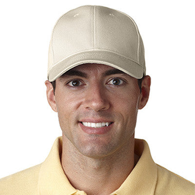 Ultraclub Classic Cut Chino Cotton Twill Constructed Cap - EZ Corporate Clothing  - 11