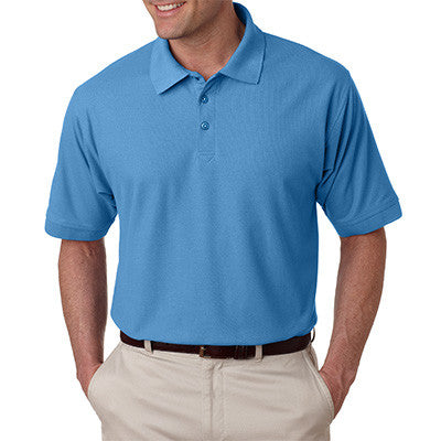UltraClub Mens Tall Whisper Pique Polo - EZ Corporate Clothing  - 3