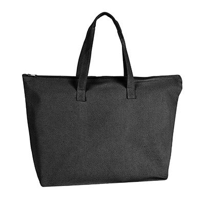 UltraClub Zippered Tote With Gusset - EZ Corporate Clothing  - 2