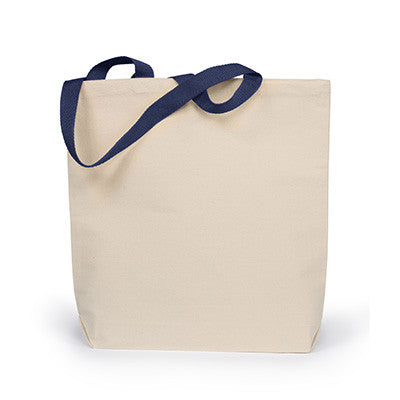 UltraClub Tote with Gusset and Contrasting Handles - EZ Corporate Clothing  - 4