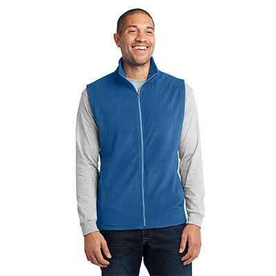 Port Authority Mens Microfleece Vest - EZ Corporate Clothing  - 5