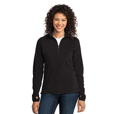Port Authority Ladies Microfleece 1/2 Zip Pullover - EZ Corporate Clothing  - 3