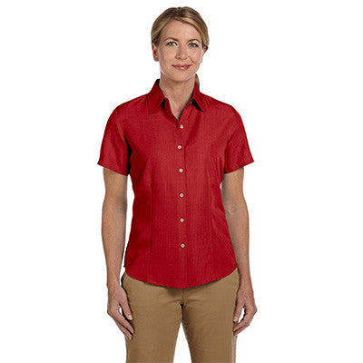 Harriton Ladies Barbados Textured Camp Shirt - EZ Corporate Clothing  - 9