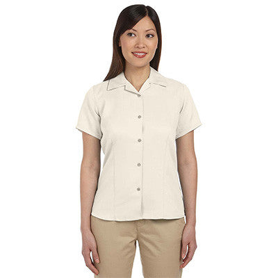 Harriton Ladies Bahama Cord Camp Shirt - EZ Corporate Clothing  - 5