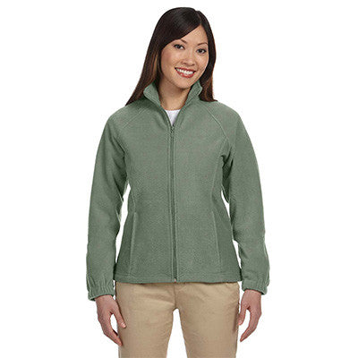 Harriton Ladies 8oz. Full-Zip Fleece - EZ Corporate Clothing  - 5