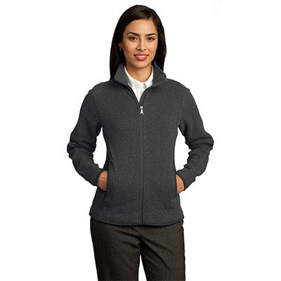Red House Ladies Sweater Fleece Full-Zip Jacket - EZ Corporate Clothing  - 3