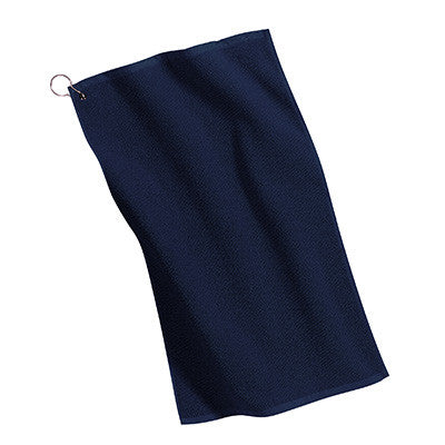 Port Authority Grommeted Microfiber Golf Towel - EZ Corporate Clothing  - 6