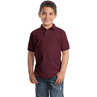 Port Authority Youth Silk Touch Sport Shirt - EZ Corporate Clothing  - 3
