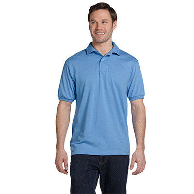 Hanes 5.5oz, 50/50 Jersey Knit Polo - EZ Corporate Clothing  - 7