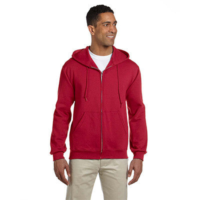 Jerzees Adult Super Sweats Full-Zip Hooded Sweatshirt - EZ Corporate Clothing  - 9