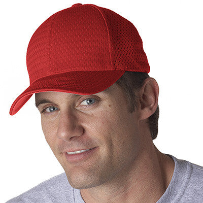 Yupoong Flexfit Athletic Mesh Solid Cap - EZ Corporate Clothing  - 4