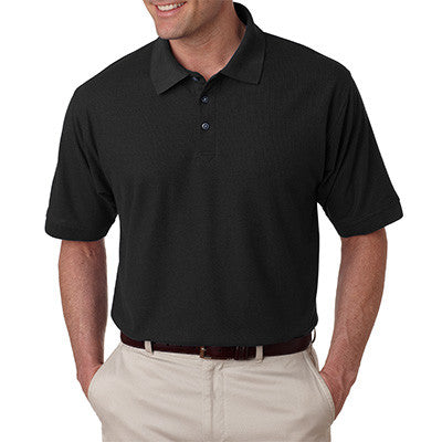 UltraClub Mens Tall Whisper Pique Polo - EZ Corporate Clothing  - 2