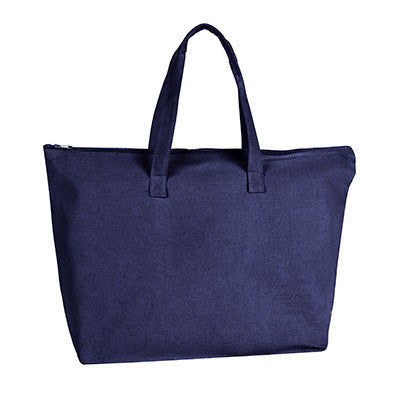UltraClub Zippered Tote With Gusset - EZ Corporate Clothing  - 4