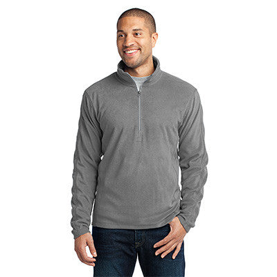Port Authority Mens Microfleece 1/2-Zip Pullover - EZ Corporate Clothing  - 4