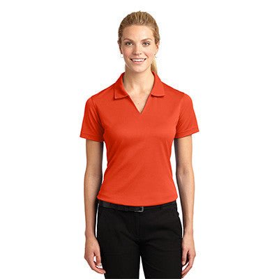 Sport-Tek Ladies Dri-Mesh V-Neck Sport Shirt - EZ Corporate Clothing  - 5