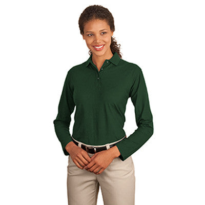 Port Authority Ladies Silk Touch Longsleeve Sport Shirt - EZ Corporate Clothing  - 4