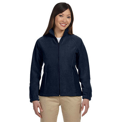 Harriton Ladies 8oz. Full-Zip Fleece - EZ Corporate Clothing  - 7