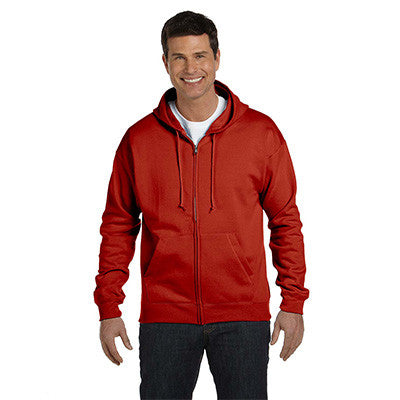 Hanes Adult ComfortBlend EcoSmart Full-Zip Hoodie - EZ Corporate Clothing  - 5