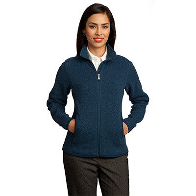 Red House Ladies Sweater Fleece Full-Zip Jacket - EZ Corporate Clothing  - 4