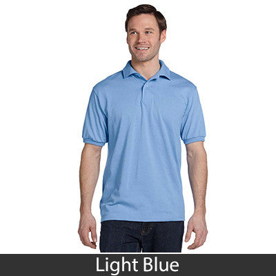 Hanes Adult Comfortblend Ecosmart Jersey Polo - Printed - EZ Corporate Clothing  - 10