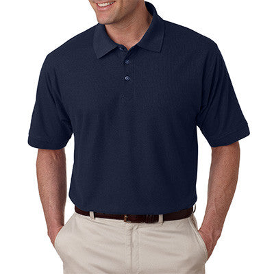 UltraClub Mens Tall Whisper Pique Polo - EZ Corporate Clothing  - 7